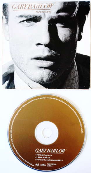 Gary Barlow ‎- Forever Love (CD Single) (VG/G)